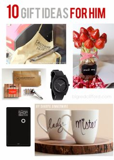 valentines ideas for HIM. DIY, and quick amazon grabs. you're welcome. bigredclifford.com