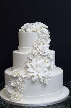 White Flower Cascade