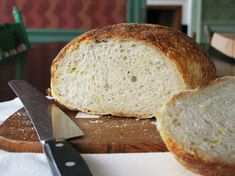 """This is even less complicated than the other no-knead bread recipe ... If that's possible!! Josh's """"Even Lazier Than No-Knead"""" Bread"""