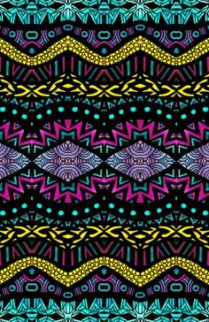Tribal Patterns | Art prints on metal by Pom Graphic Design