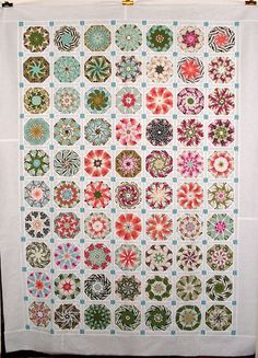 T-Fresh Flowers by Linda Rotz Miller Quilts & Quilt Tops, via Flickr