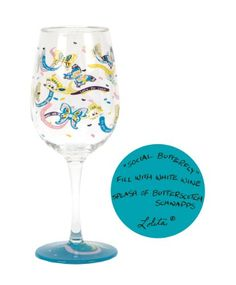 $17.45-$17.50 Partyware to go- anywhere and anytime. Set of 2 stylish acrylic wine glasses decorated in Lolita patterns add fun to any occasion and make a great gift for so many occasions. Wine cocktail recipe on the bottom of every glass. Each glass is 8-3/4-Inch tall and 3-1/2-Inch diameter; holds 16-Ounce. Whatever your guests are drinking will taste even better in these glasses. Hand washing ...