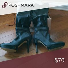 I just added this listing on Poshmark: Nine West Black Knee High Boots. High Heel Boots, Shoes Heels Boots, Heeled Boots, High Heels, Black Knees, 4 Inch Heels, Nine West Shoes, Fashion Design, Fashion Tips