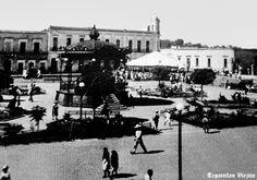 Plaza de armas de Tepatitlan de Morelos Jalisco Mexico