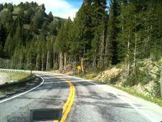 Sawtooth Scenic Byway - Hwy 75 - Idaho - YouTube