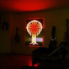 Tree! Some Like It Hot, Design Furniture, Light Art, Fun Stuff, Table Lamp, Red, Color, Art, Fun Things