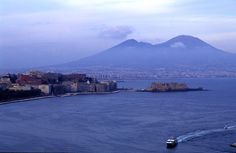 Mt Vesuvius, Naples, Italy