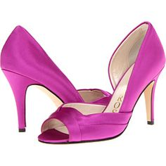 Caparros Brasilia Pink Wedding Shoes, Wedding Dresses, Satin Shoes, Marrying My Best Friend, Dress For Success, Here Comes The Bride, Husband Wife, Magenta, Lilac