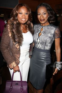 The Belle of the Ball - Star Jones and Amma Asante at a lunch to celebrate #BELLEmovie