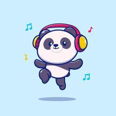 Niedlicher Panda, Panda Bebe, Panda Art, Cute Panda Drawing, Cute Panda Cartoon, Girl Cartoon, Cute Panda Wallpaper, Bear Wallpaper, Panda Wallpapers