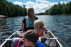 Algonquin Park, one of my favourite places, with my 3 favourite people
