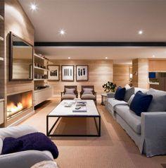 Soft Natural Interior Decor luxurious penthouse interior living room