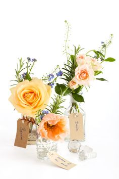 Gorgeous #wedding flower ideas: roses http://www.weddingandweddingflowers.co.uk/article/569/wedding-flower-ideas-roses