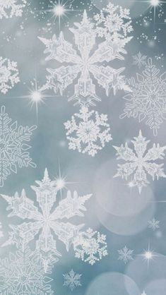 Snowflake Pattern Background #iPhone #5s #Wallpaper