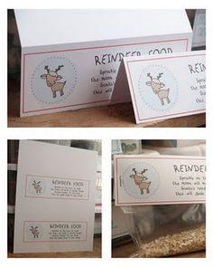 13 Best Reindeer Food Bar Images On Pinterest Preschool Christmas