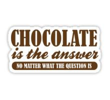 High quality Chocolate gifts and merchandise. Inspired designs on t-shirts, posters, stickers, home decor, and more by independent artists and designers from around the world. Chocolate Love Quotes, Chocolate Humor, Chocolate Day, Chocolate Gifts, Candy Quotes, Gift Quotes, Dessert Quotes, Funny Candy, Food Stickers