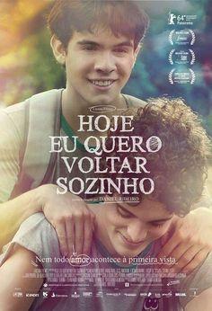 """""""Hoje eu quero voltar sozinho"""" (filme nacional - 2014)"""