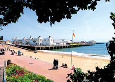 Day trips out with the children, Clacton on Sea, Essex, England.