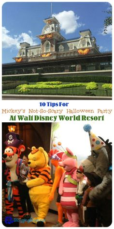 Tips For Mickey's Not-So-Scary Halloween Party at Walt Disney World Resort