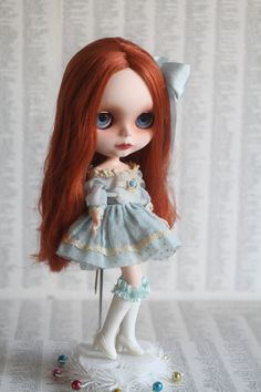 Rowan  A Mab Girl  custom Blythe doll ooak Mab by mabgraves