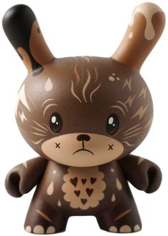 Chocolate - custom dunny by Squink!