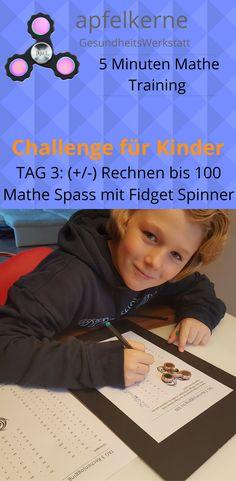 Erste +/- Mathe Challenge für Kinder Mit Spass rechnen lernen bis ...
