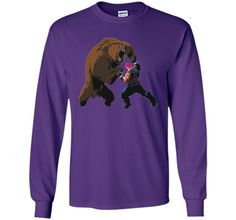 Overwatch Zarya Bear Spray Tee Shirt