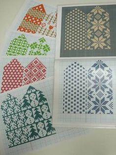 Mitten Gloves, Mittens, Charts, Wool, Quilts, Blanket, Knitting, Scrapbooking, Breien