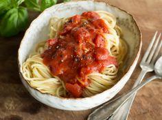 Selbstgemachte Tomatensauce