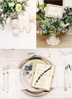 Burlap....I love this idea for an invitation or maybe even a program