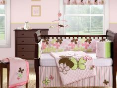Baby nursery themes are one of the most interesting and cutest interior decors that one can think of. In fact it is very important to clearly and cleverly plan for your baby room, as it needs to be… Baby Girl Room Themes, Baby Girl Nursery Decor, Baby Bedroom, Little Girl Rooms, Baby Room Decor, Girls Bedroom, Nursery Ideas, Baby Rooms, Nursery Room