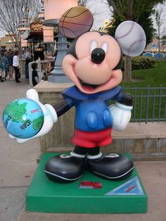 "#32 ""ESPN 25th Anniversary Mickey"" By  Chris Berman & Dick Vitale - TV Show.  $5,000. for The V Foundation for Cancer Research"