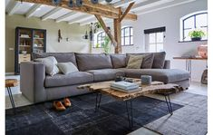 Buying a corner sofa for your living room? Corner Sofa, Outdoor Furniture, Outdoor Decor, Sweet Home, New Homes, Couch, Patio, Living Room, Home Decor