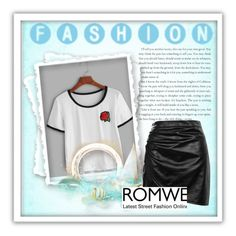 """Romwe"" by hellen1905 ❤ liked on Polyvore featuring Boohoo"