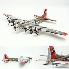 87 best scale models retro bombers images on pinterest scale b 17g 35 ve little miss mischief 148 monogram fandeluxe Gallery