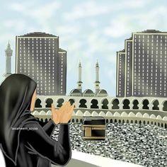 Cute Cartoon Characters, Couple Cartoon, Girl Cartoon, Muslim Photos, Sad Girl Drawing, Hijab Drawing, Cute Muslim Couples, Islamic Cartoon, Cute Emoji Wallpaper