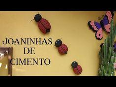 BORBOLETA DE CIMENTO (PENDURECO) - YouTube