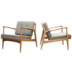 1stdibs | Pair of Lounge Chairs by Kofod-Larsen