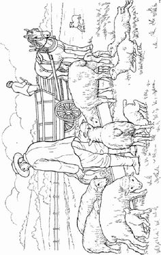 Farm Life Coloring Pages 3