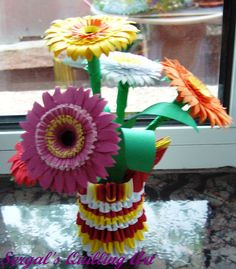 Sergal's quilling art Paper Quilling, Flowers, Royal Icing Flowers, Flower, Florals, Floral, Quilling, Blossoms