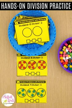 Multiplication and division fluency is such an important skill for grade students. In Unit 3 of the Grade Math Made Fun Curriculum, 3rd Grade Division, Teaching Division, Division Activities, 3rd Grade Activities, Math Division, 3rd Grade Classroom, Math Classroom, Google Classroom, Classroom Ideas