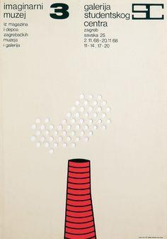 BorisBućan,The Imaginary Museum 3, Student Center Gallery, silkscreen, 1968