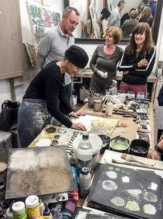 News – ines hildur Artist Life, Artist At Work, Richard Burlet, Neo Rauch, Art Studio Design, Sketchbook Inspiration, Process Art, Art Party, Art Techniques