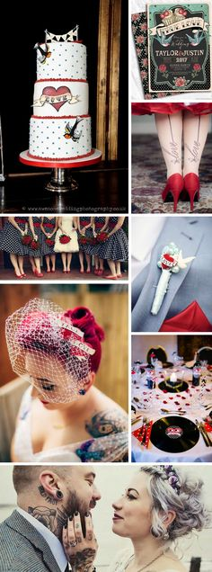 Wedding Season is Here! Rockabilly Wedding Inspiration from Tiger Milly
