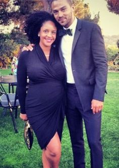 Jesse Williams and Wife Aryn Drake-Lee