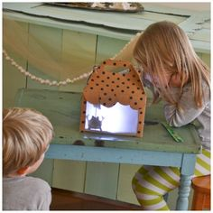 Mini Shadow Puppet Theatre Tutorial. Build your own Puppet Theatre.