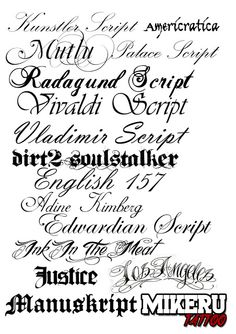 Letras Ink Estilos Tattoo Tatuajes Letters