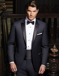 The tuxedo is among the most classic fashions of wedding attire. Well, tuxedos may be the answer. This tuxedo isn't available in boys sizes. You can certainly choose a lovely tuxedo to provid… Blue Tuxedo Wedding, Wedding Suits, Wedding Attire, Wedding Dresses, Wedding Tuxedos, Wedding Poses, Formal Tuxedo, Wedding Ideas, Designer Tuxedo
