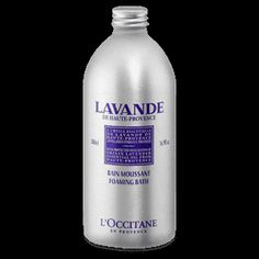 All the relaxing benefits of lavender from Haute-Provence are captured in this rich formula that generously foams in the bath and leaves skin clean,