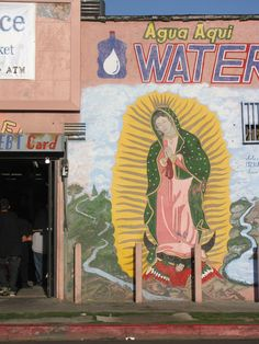 Virgen de Guadalupe | Mural | Street Art | South Central | Los Angeles, CA